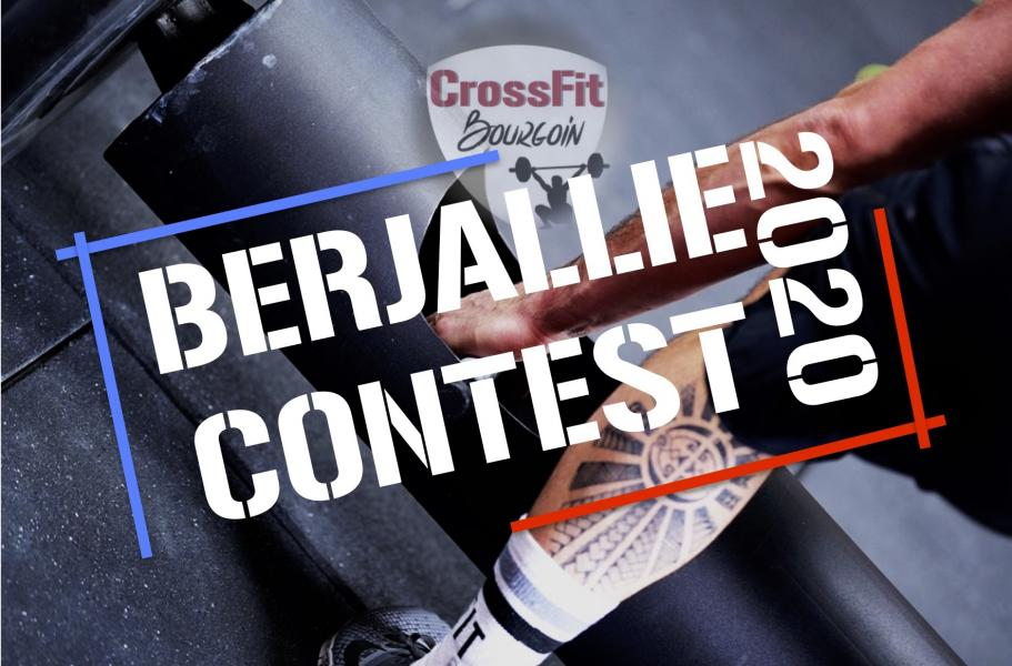 Berjallie contest 2020 page couverture