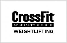 Crossfit ethos weightlifting course